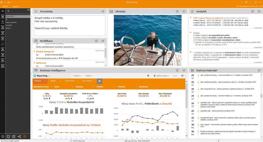 HELIOS Orange edice iNUVIO je přívětivý pro uživatele. Každý si jeho vzhled může nastavit podle svých přání.